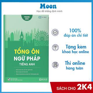 Tổng ôn ngữ pháp Tiếng Anh cô Trang Anh- Sách luyện thi THPT Quốc gia môn tiếng anh ebook PDF-EPUB-AWZ3-PRC-MOBI