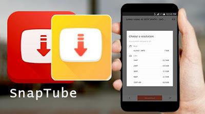 تطبيق سنابتيوب SnapTube بدون إعلانات للاندرويد