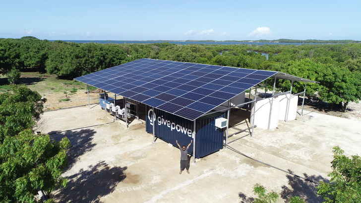 GivePower Solar Desalination Plant.