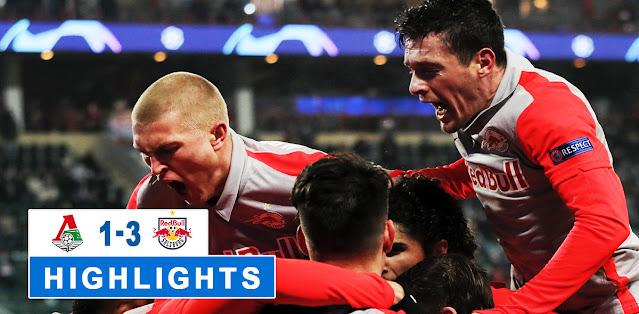 Lokomotiv Moskva vs Salzburg – Highlights