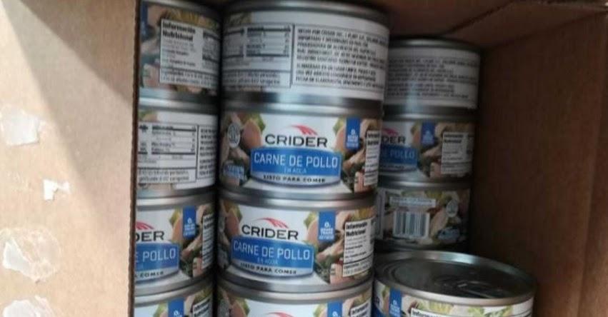 QALI WARMA: Retienen 849 cajas de latas de conserva en presunto mal estado destinadas al programa social - www.qaliwarma.gob.pe