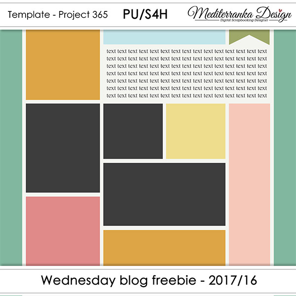 WEDNESDAY BLOG FREEBIE - 2017/16