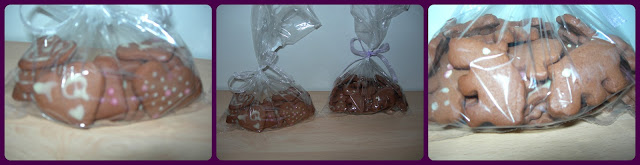 Galletas de chocolate con formas
