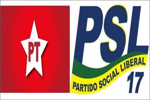 PSL e PT lideram em recursos públicos neste ano de 2020 no fundo eleitoral, tempo de TV e rádio