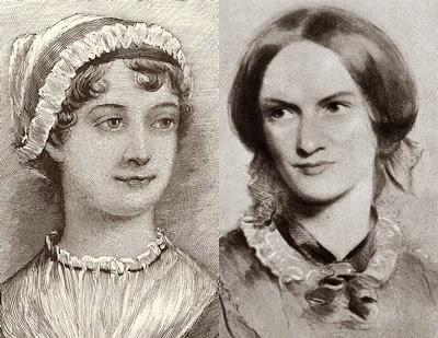 Jane Austen and Charlotte Brontë