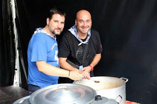 Concurso de marmitako de las fiestas de Retuerto
