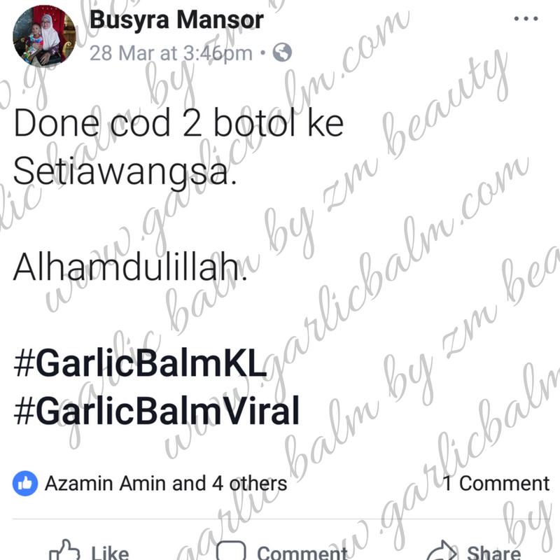 AGENT SAH GARLIC BALM WANGSA MAJU KL