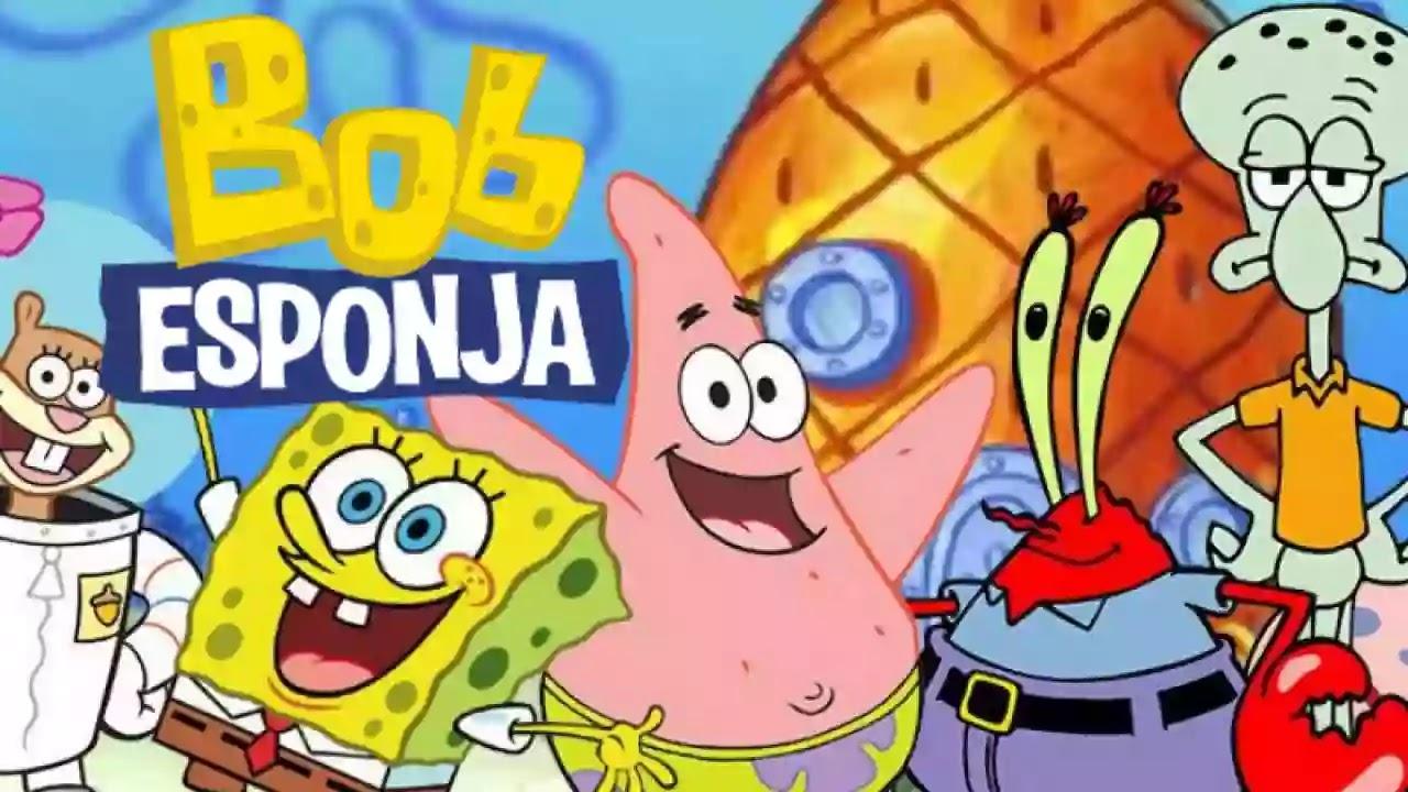 Descargar Bob Esponja Audio Latino Todas Las Temporadas 8 12 Peliculas