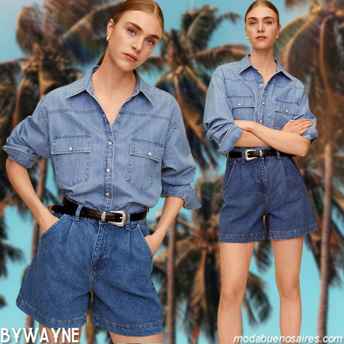 moda denim primavera verano 2021
