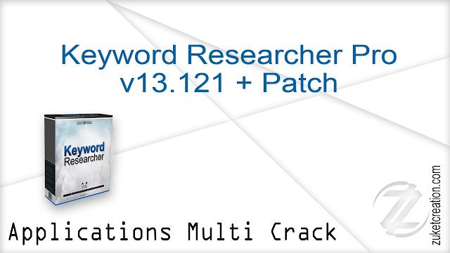 Keyword Researcher Pro v13.121 + Patch