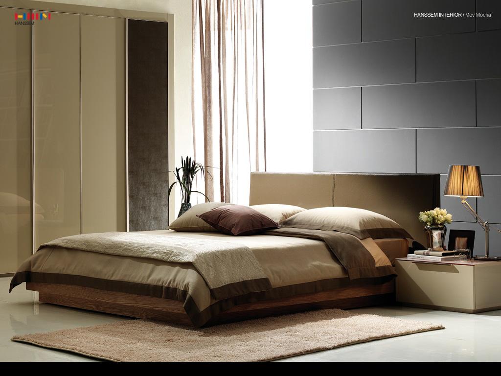 modern warm bedroom paint colors idea