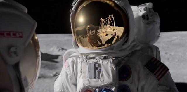 Reseña de 'For All Mankind'. Astronaustra americano y soviético en la Luna