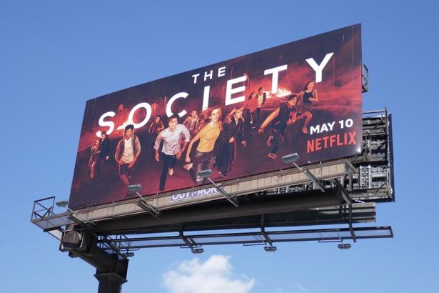 Society series premiere billboard