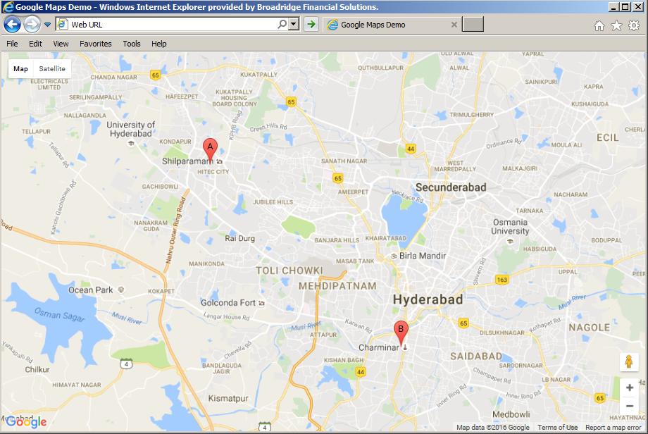 Lucky Tech Share: Learning Google Maps Javascript API