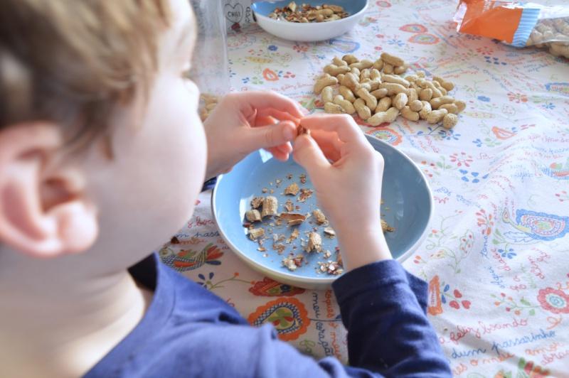 receta mantequilla cacahuete