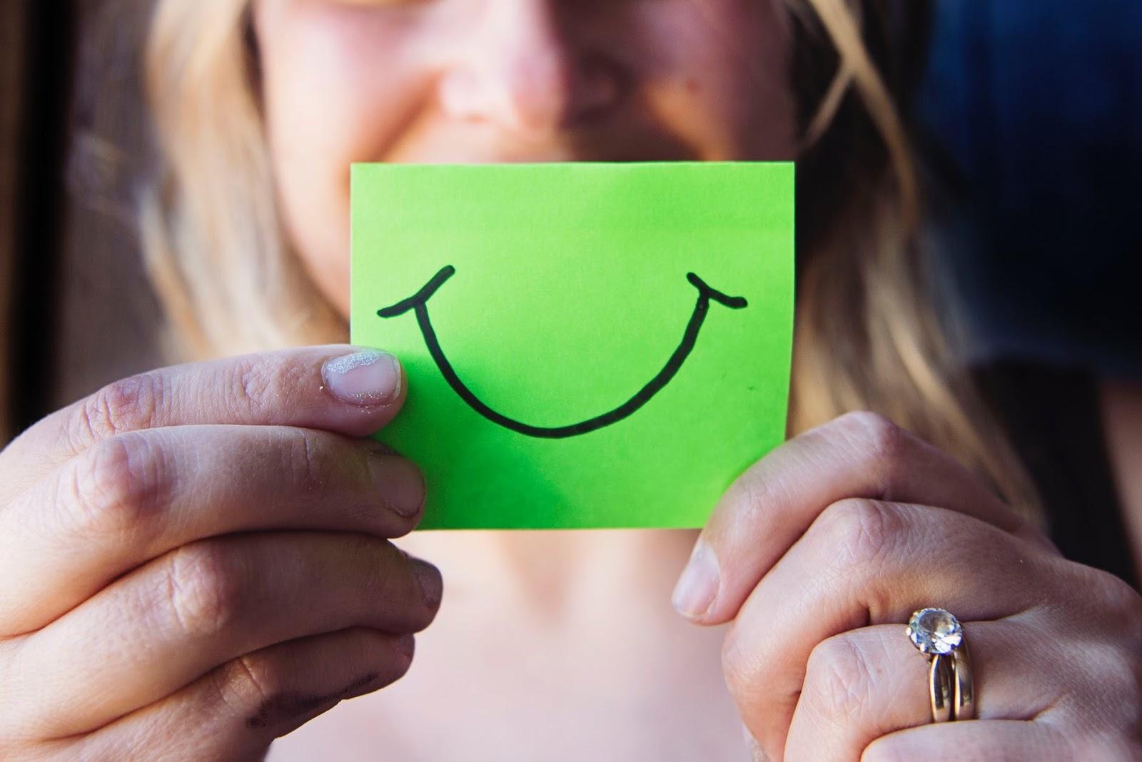 Um sorriso nem sempre significa um dia bom, mas a força para o dia ruim
