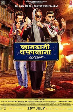 Poster Of Hindi Movie Khandaani Shafakhana 2019 Full HD Movie Free Download 720P Watch Online