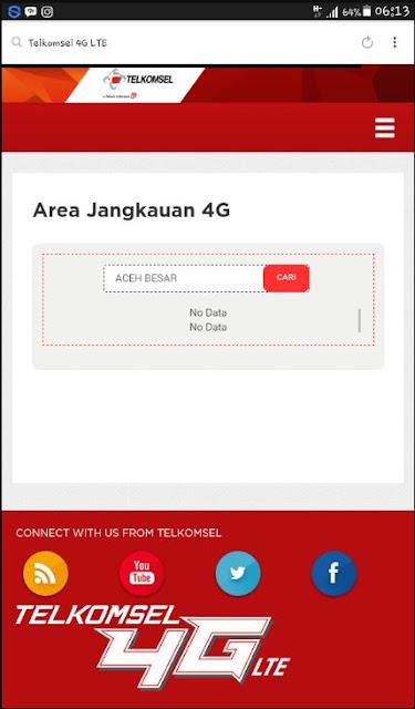 Cara Cek Wilayah Yang Sudah Dijangkau Jaringan 4G Untuk Kartu Telkomsel