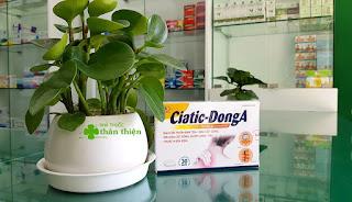 Ciatic-DongA, hỗ trợ thông kinh hoạt lạc, giảm các triệu chứng đau dây thần kinh tọa, đau cột sống