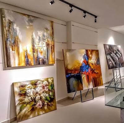 telas personalizadas galeria de quadros