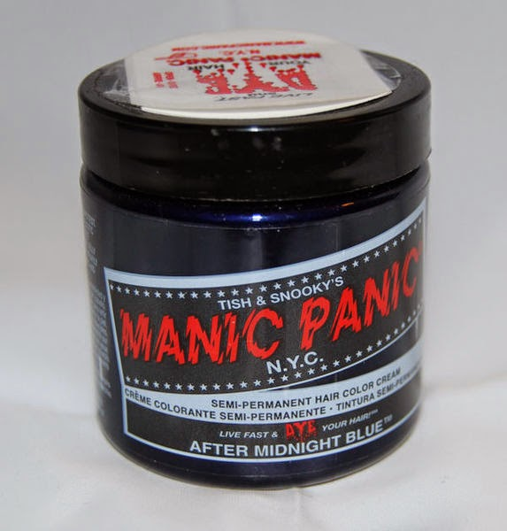 manic panic after midnight blue