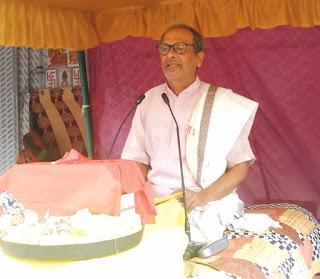भागवत भक्तों का पुराण है–डॉ. नरेंद्र त्रिपाठी | #NayaSaberaNetwork