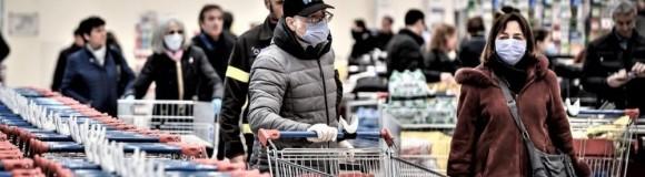Κορωνοϊός:1 στους 3 επισκέπτες στο σουπερμάρκετ αγοράζει προϊόντα για 2 νοικοκυριά & Μαγειρεύουν  περισσότερο