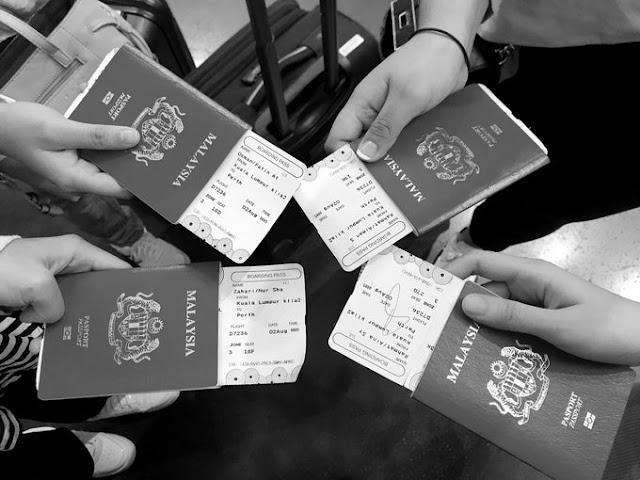 Tidak Dibenarkan Berlepas Ke Perth, Australia