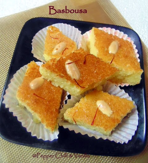 how to make basbousa