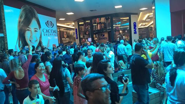 Inauguração de shopping em Cacoal gera cerca de 800 empregos diretos
