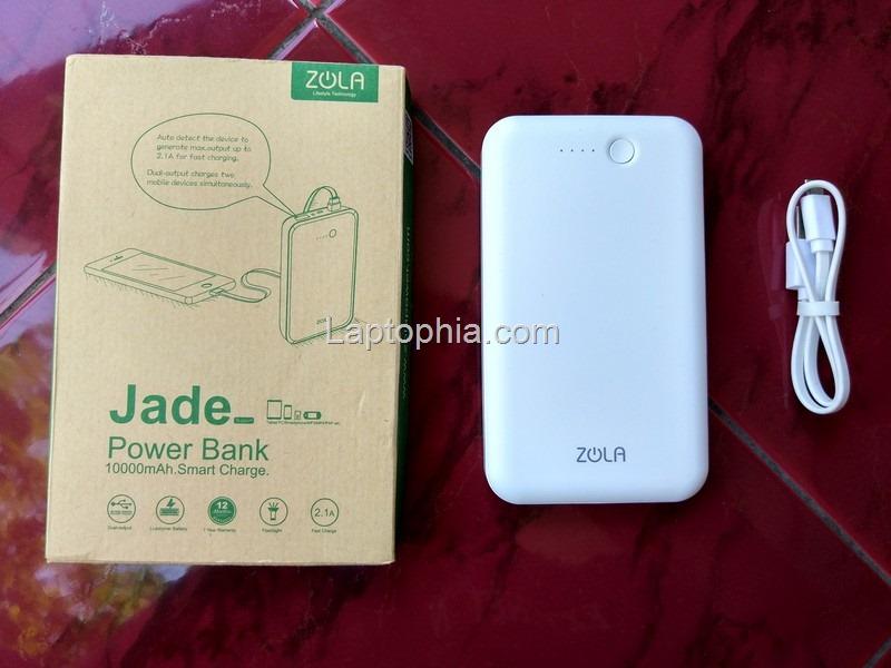 Paket Pembelian Zola Jade 10000mAh