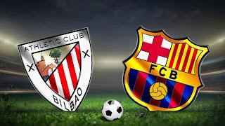 Барселона - Атлетик Бильбао смотреть онлайн бесплатно 16 августа 2019 Атлетик Бильбао vs Барселона прямая трансляция в 22:00 МСК.