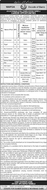 Latest Water and Power Development Authority Jobs in Pakistan 2021