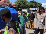 Pantau Jalur Pantura, Dirregident Korlantas Polri Kunjungi Pos Check Point Perbatasan Jateng-Jatim