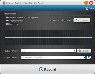 GiliSoft Audio Recorder Pro 7.1 Full Keygen