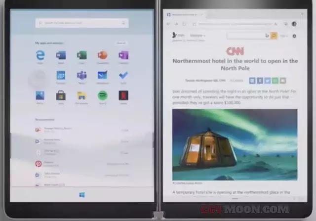 ويندوز 10 اكس - مايكروسوفت تكشف الغطاء عن احدث ويندوز  Windows 10X