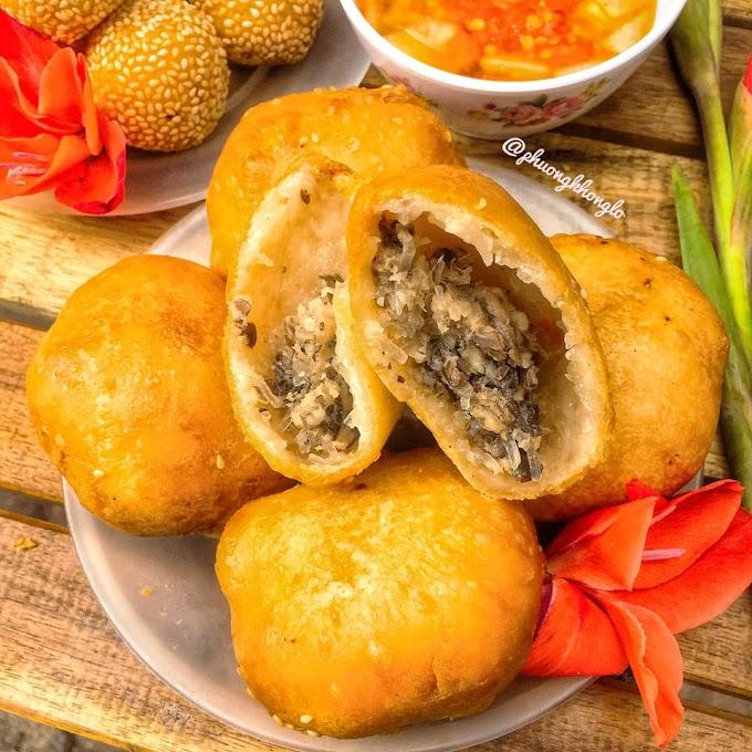 Bánh rán lúc lắc phố cổ, 196 Thái Thịnh (cuối ngõ Thái Hà)