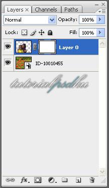 Menambahkan Layer Mask - Cara Mengganti Background Foto menggunakan Photoshop - Topikramdani.com