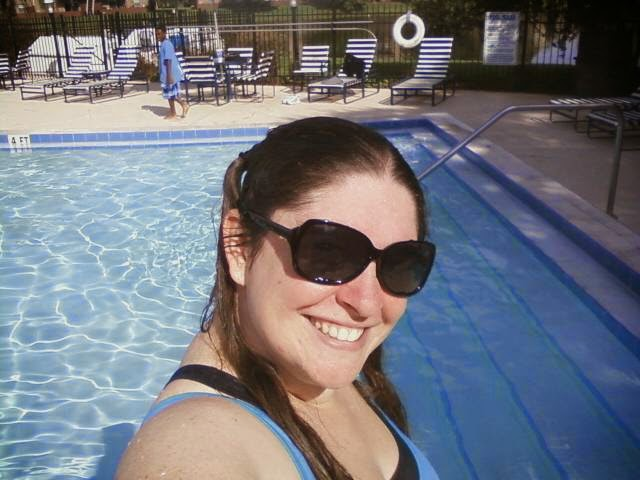 Swimming In Workout Clothes Famous Ashley Grant