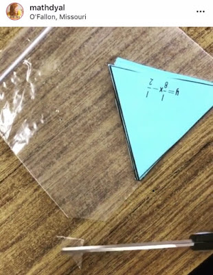 cut corners off baggies to keep students from inflating them hack