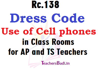Rc138, Dress Code, Use of Cell phones