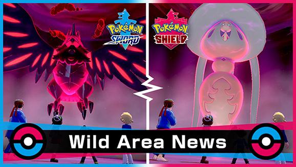 Pokémon Sword e Shield - Evento com Pokémon Tipo Fada e Voador na Wild Area