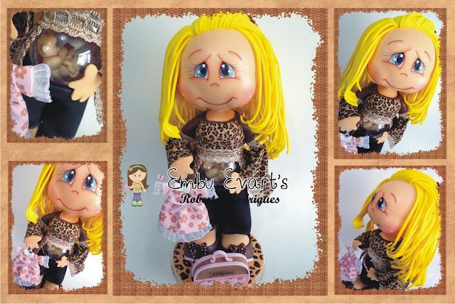 boneca com bebê