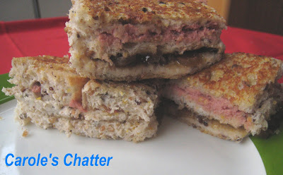 Carole's Chatter: Pate & caramelised onion stack – due a re-visit
