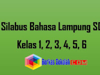 Silabus Bahasa Lampung SD Kelas 1, 2, 3, 4, 5, 6