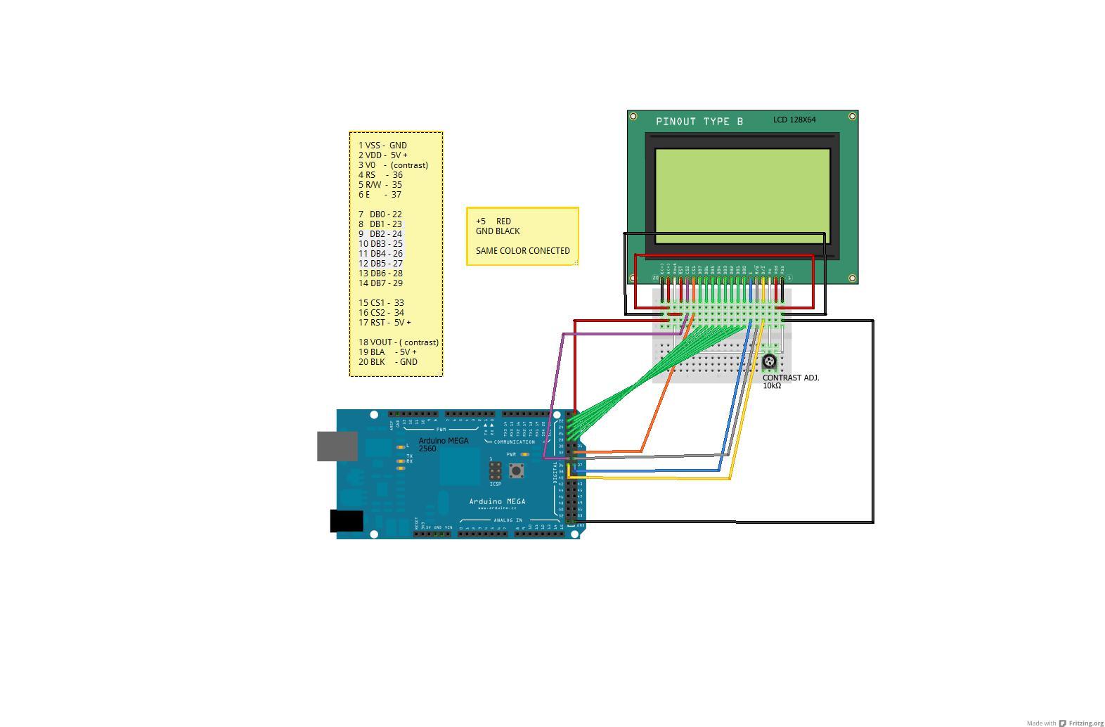 Projet Arduino Médico Robot: Tuto #4 Ecran Graphique GLCD