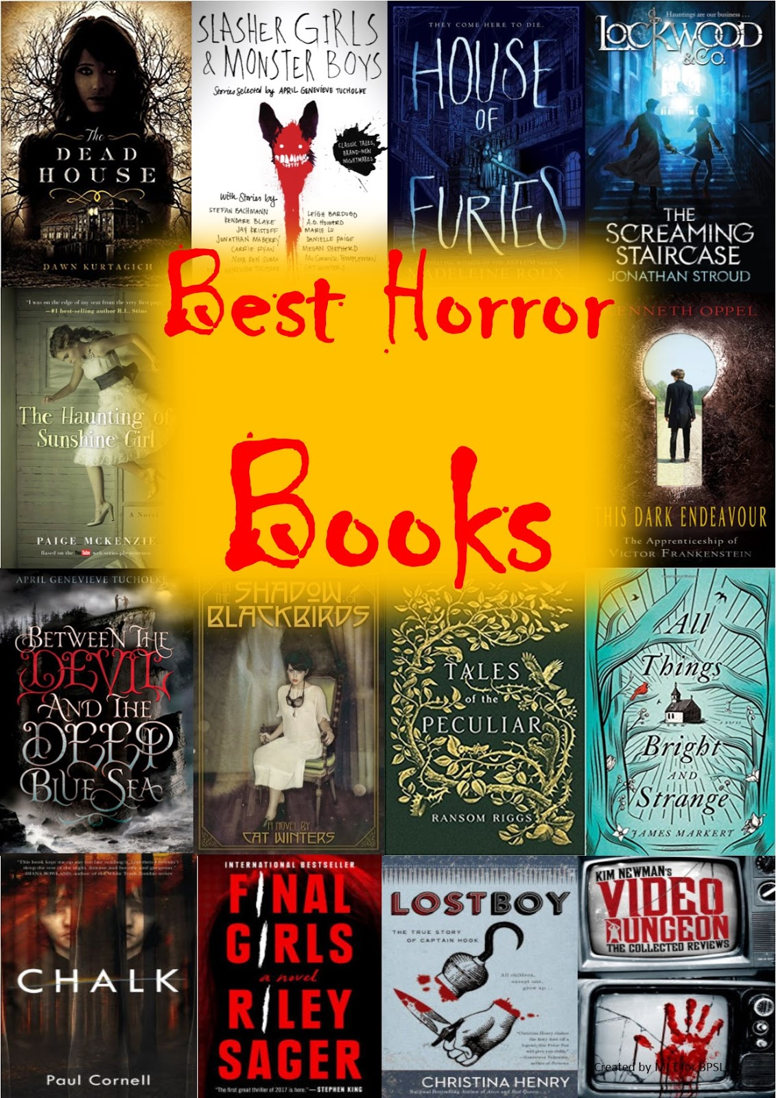 Aking Silid Aklatan: Best YA Horror Books