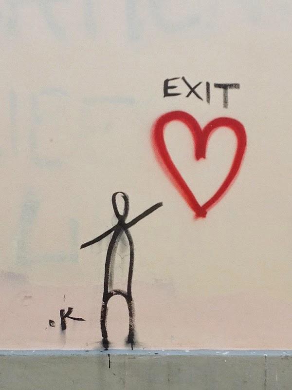 Firenze, Graffiti, Streetart, Exit Love, Love Exit
