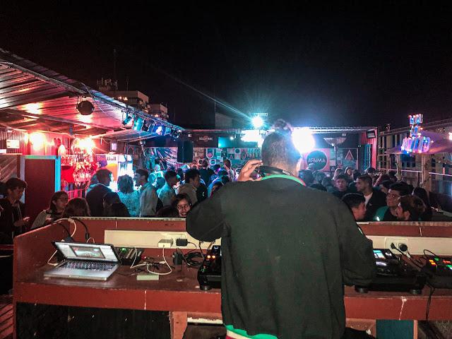 En la discoteca Woo Club, Valparaíso, Chile, diciembre de 2019.