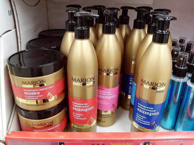 Kosmetyki z Biedronki - maski i odżywki do włosów Marion